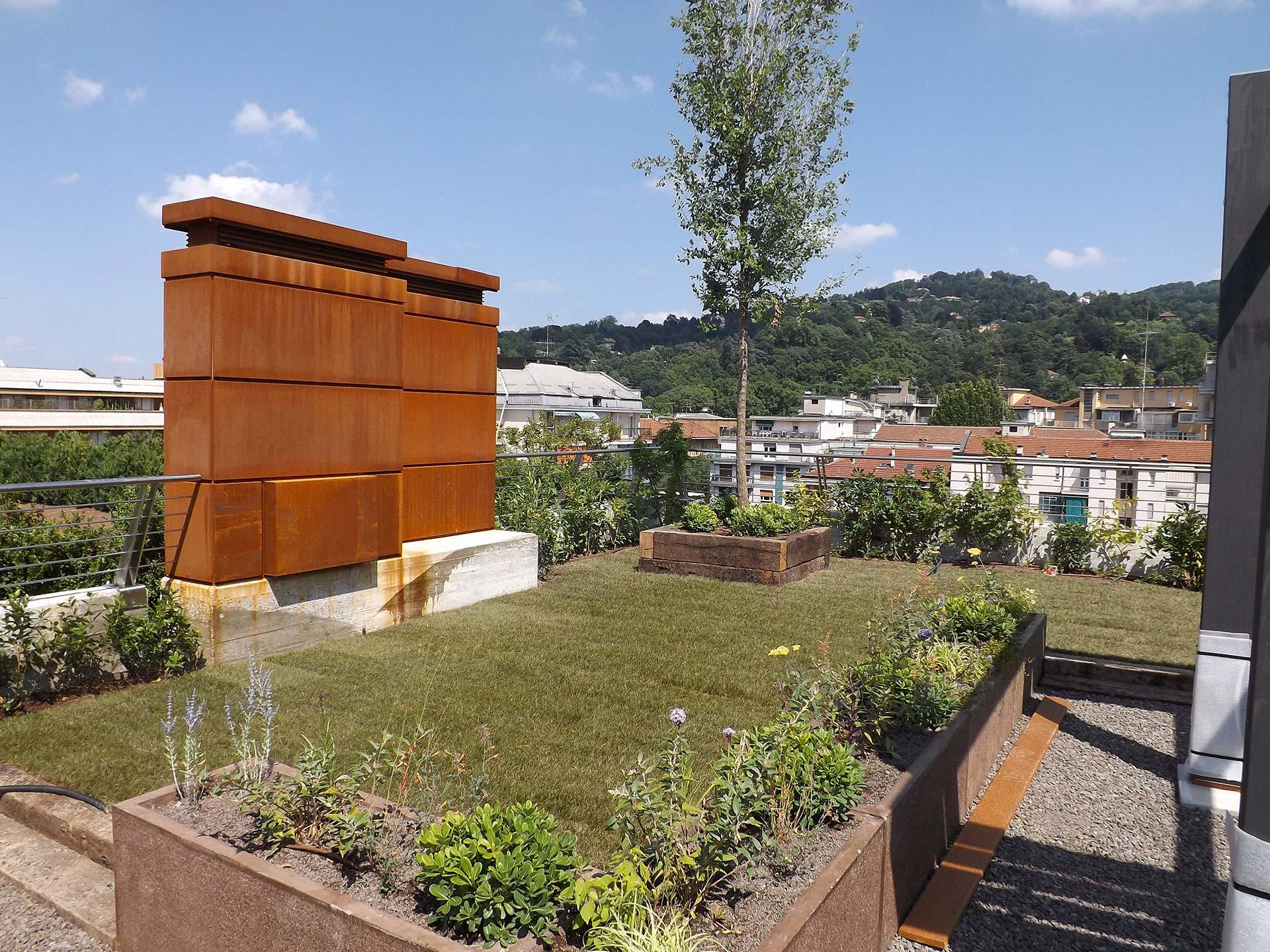 Terrazzi - Il Giardiniere: terrazzi, irrigazione, potatura